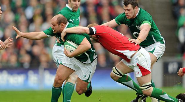 Rory Best has had his fair share of injury heartbreak but now he's looking forward to making a little bit of history with Ireland. Photo: Ray McManus / Sportsfile