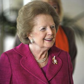 Former prime minister Margaret Thatcher has been named most influential woman in the world in a poll