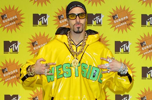 Sacha Baron Cohen as his character Ali G has been accused of giving Staines a bad reputation. Photo: Getty Images