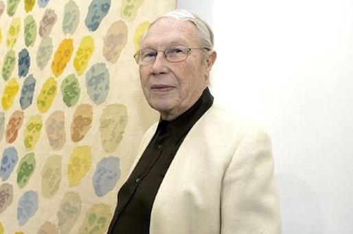 Louis le Brocquy: hopes to see his paintings 'dance'
