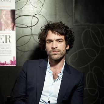 Romain Duris said it was easy to act like he was in love with Vanessa Paradis