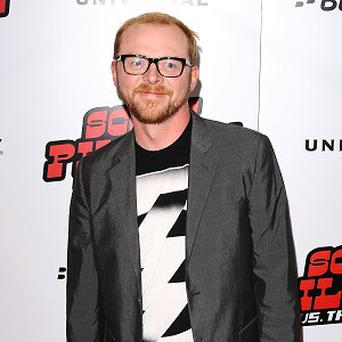 Simon Pegg has revealed that the Star Trek sequel has been written