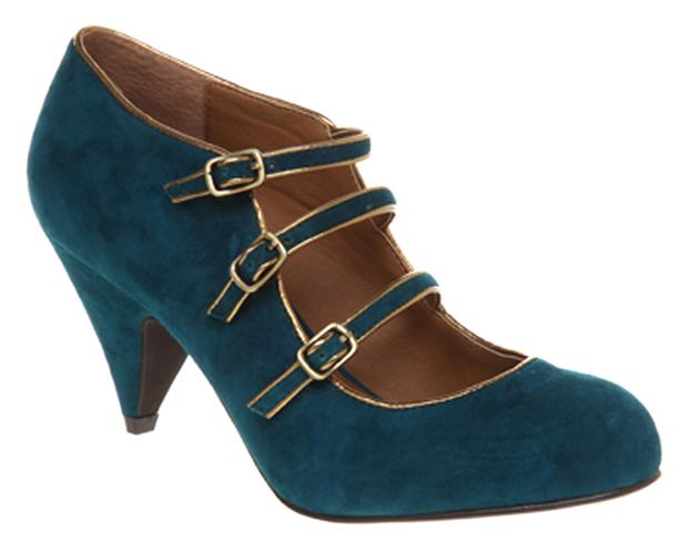 Teal sued mid heel from Office €77.62