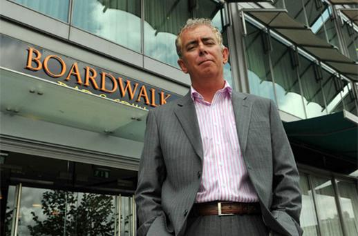 Neil Prendeville in April last year outside his restaurant, the Boardwalk Bar and Grill, Lapps Quay, Cork city. Photo: Clare Keogh/Provision