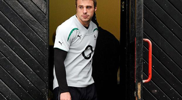 Tommy Bowe will be hoping to help Ireland close the door on South Africa.