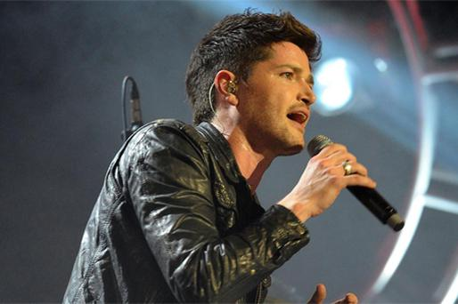 Danny O'Donoghue lead singer of the Script. Photo: PA