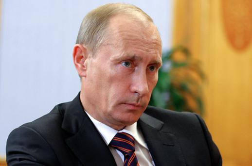 Russia's Prime Minister Vladimir Putin introduced an export ban. Photo: Getty Images