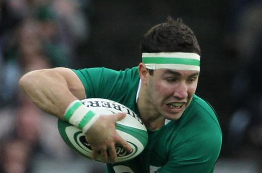Paddy Wallace can play in a few positions for Ireland. Photot: Getty Images