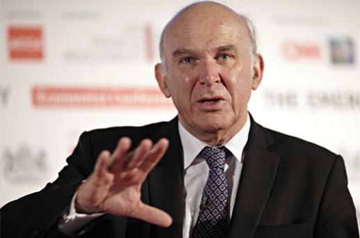 Mr Cable said he made the move after submissions and information regarding News Corp's approach. Photo: Bloomberg News