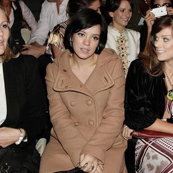 Lily Allen told fans on Twitter to 'say a little prayer'