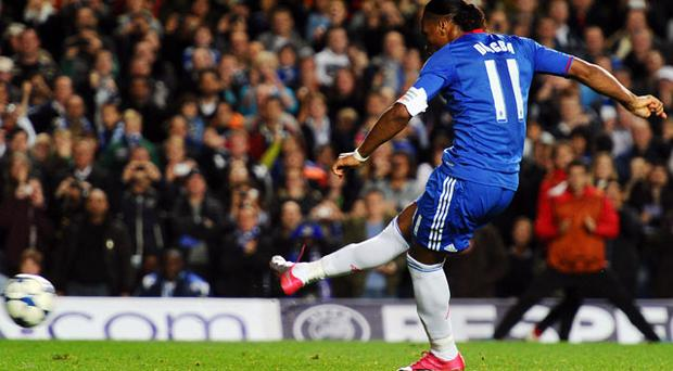 Didier Drogba grabbed his first European goal of the season. Photo: Getty Images