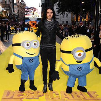 Russell Brand lends his voice to Despicable Me