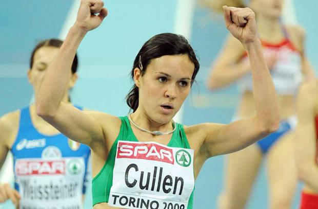 Mary Cullen will focus on the indoor season after undergoing surgery.