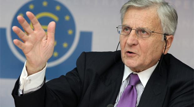 Dow Jones newswire said the head of the ECB Jean Claude Trichet did confirm yesterday that the bond-buying programme is still in place. Photo: Bloomberg News