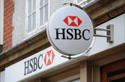 HSBC: lower profit growth in the third quarter. Photo: PA
