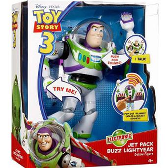 Buzz Lightyear is Disney's best selling toy of all time in the UK