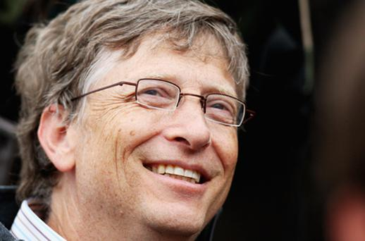 Bill Gates is the most powerful figure in technology, and the 10th most powerful person in the world overall, according to the latest list from Forbes. Photo: Getty Images
