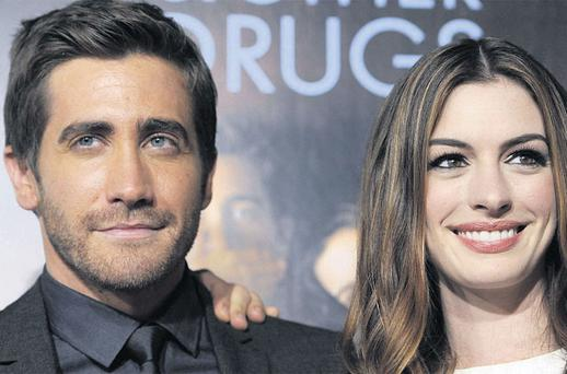 ON-SCREEN CHEMISTRY: Jake Gyllenhaal has gushed about the dedication to her craft of co-star Anne Hathaway