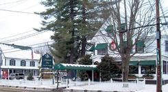 SNOWBOUND: The Woodstock Inn, with its restored Victorian home, is just a 15-minute drive from three resorts