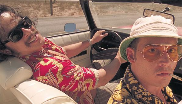 Can I see your licence, please? American police are quick to pull over speeding drivers, as Hunter S Thompson (played by Johnny Depp in Fear And Loathing In Las Vegas) found out