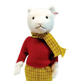 Rupert Bear celebrates his 90th birthday with a charity auction