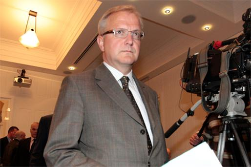 Olli Rehn: a hard taskmaster but believes in working with countries rather than dictating to them