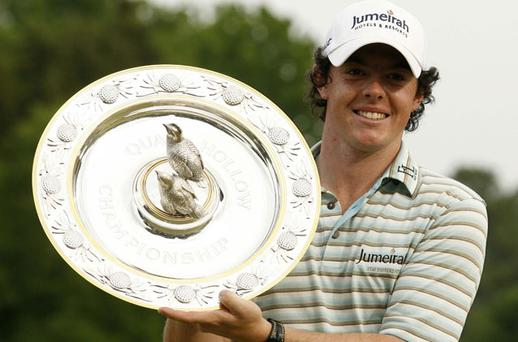 Despite his stunning victory at Quail Hollow, Rory McIlroy admits that his transition to the US Tour was difficult and lonely. Photo: Reuters
