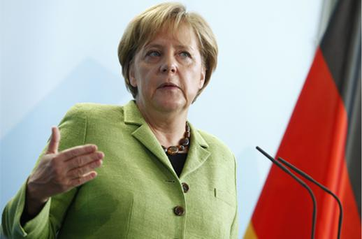 German Chancellor Angela Merkel. Photo: Bloomberg News