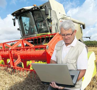 Nearly 70pc of farmers reported low confidence in their ability to accurately complete farm paperwork online because of time constraints and a lack of internet practice