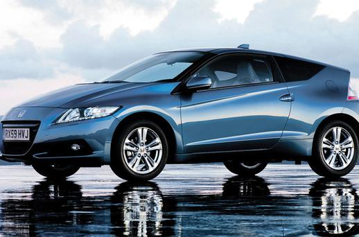 The Honda CR-Z may look unusual, but is agile and has plenty of pep.