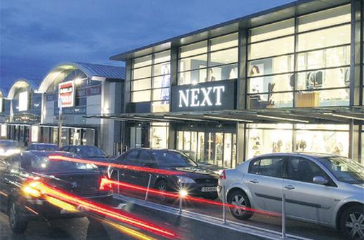 Westend Shopping Park in Blanchardstown