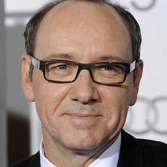Kevin Spacey got emotional at the premiere of Casino Jack