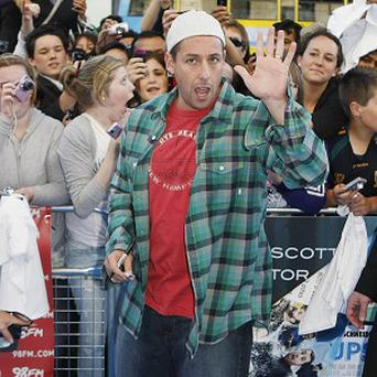Adam Sandler wanted to thank the cast of his film