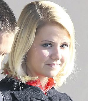 Elizabeth Smart at the Federal Court in Salt Lake City, Utah