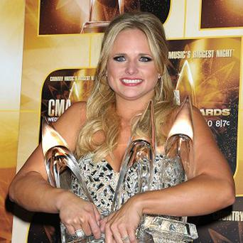 Miranda Lambert won three gongs at the Country Music Association Awards