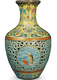 Chinese vase. Photo: Reuters