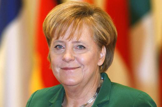German Chancellor Angela Merkel has taken a leading role in Europe's peripheral sovereign debt crisis with Ireland. REUTERS
