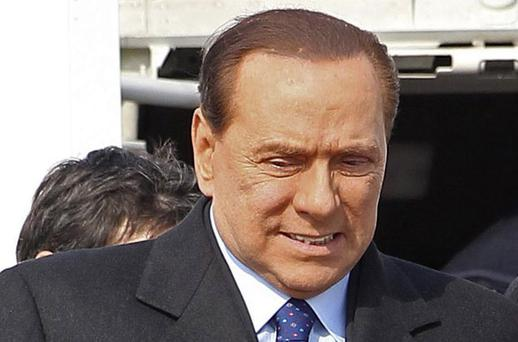 Silvio Berlusconi's political future has been in jeopardy for months, fuelled by claims surrounding 17-year-old Ruby. Photo: Reuters