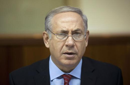 Benjamin Netanyahu: showed US proposal to his cabinet. Photo: Reuters