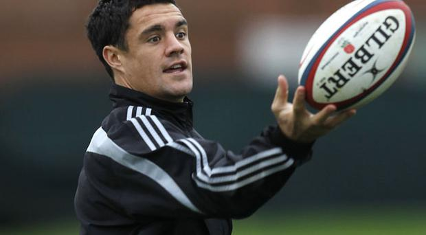 Star out-half Dan Carter continues to be a shining light for Graham Henry's all-conquering All Blacks and is eagerly looking forward to playing in the new Aviva Stadium against Ireland on Saturday. Photo: Reuters