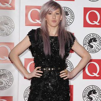 Ellie Goulding has been tipped for Christmas number one