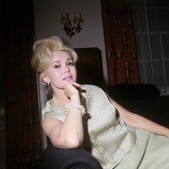 Film star Zsa Zsa Gabor, pictured in London in 1966, has returned home from hospital