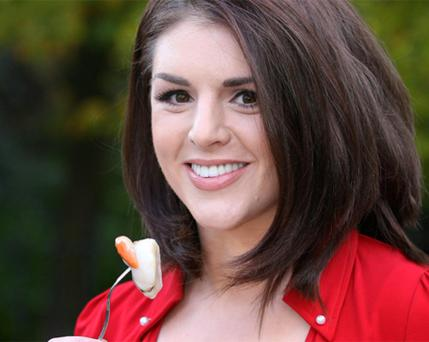 Sile Seoige at the Good Food Ireland Conference and award ceremony which took place in the Shelbourne Hotel yesterday