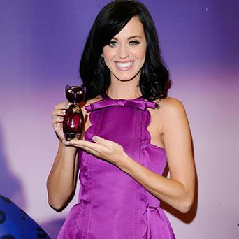 Katy Perry has launched her own perfume