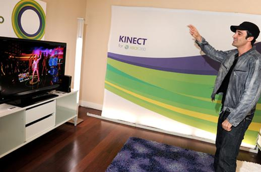No need for controllers with Xbox Kinect. Photo: Getty Images