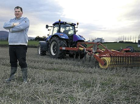 Tillage farmer George Mason says his village of Ardfinnan has lost out since the sugar beet sector went into decline