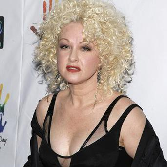 Cyndi Lauper performed at a John Lennon tribute concert