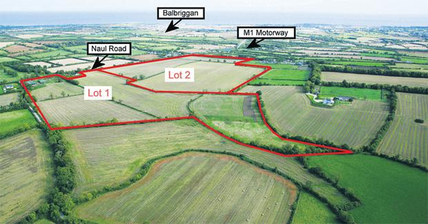 The division into lots will suit several prospective customers, from existing farmers who want to expand to first-time farmers and people who may wish to build a new home on a few acres near the capital