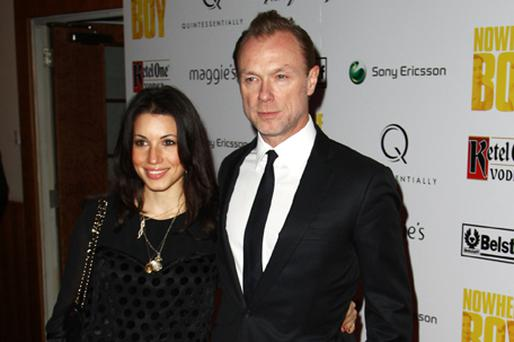 Gary Kemp, pictured with wife Lauren, is toying with the idea of Spandau Ballet - The Musical. Photo: Getty Images