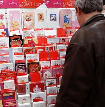 A report has indicated that most people write the same message every time they send a greetings card